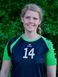 Spielerin in der 1. Damen Mannschaft Volleyball des TSV KK: Zuspielerin Amelie Brandes