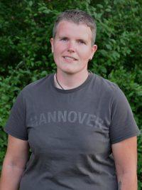Trainerin der 1. Damen Mannschaft Volleyball des TSV KK: Jessica Gebauer
