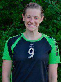 Spielerin in der 1. Damen Mannschaft Volleyball des TSV KK: variable Spielerin Sara Schiewe