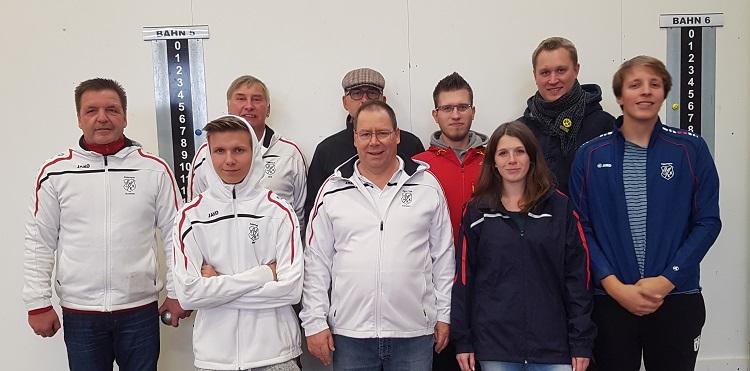TSV KK II. Petanque-Mannschaft