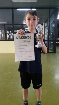 TSV KK TT Matei 3 Platz Quali Regionsrangliste 06.05.2017