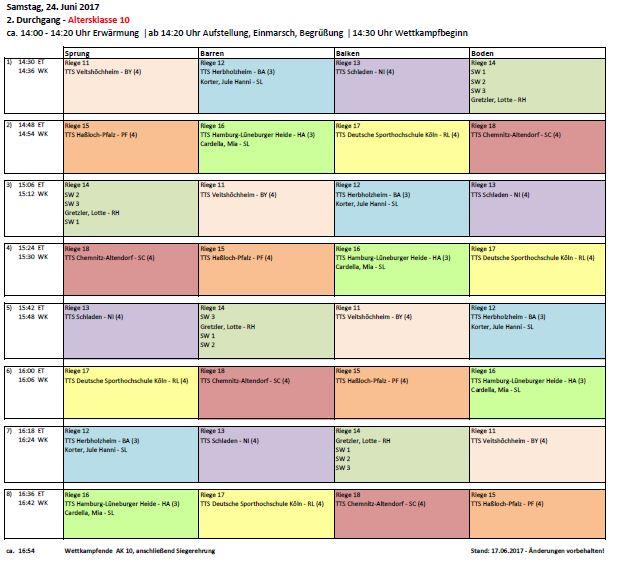 TSV KK TTSP 2017 Zeitplan 24.06.17 Seite 2