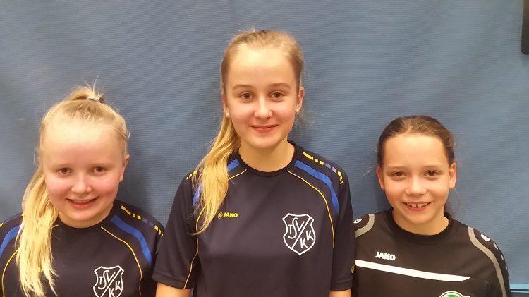 TSV KK Tischtennis B-Schülerinnen gegen Hannover 96-1