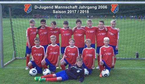 TSV KK Fussball 3- D-Junioren Saison 2017-2018