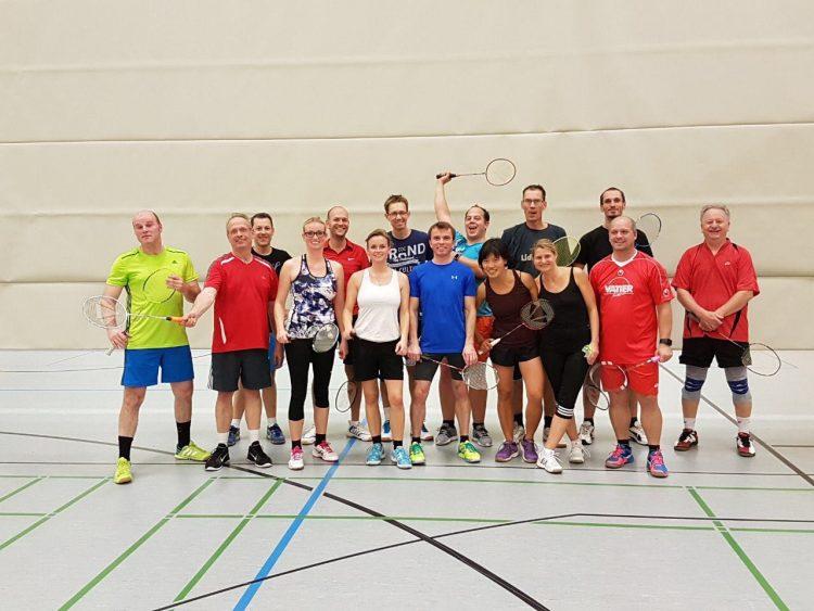TSV KK Badminton 1 - 2017