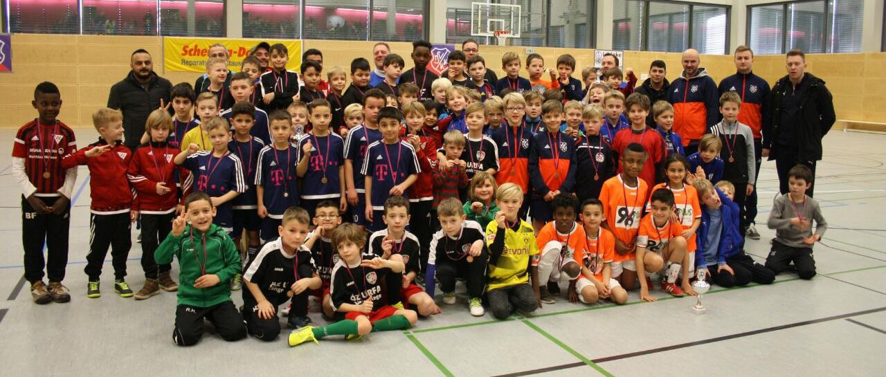 TSV KK Power-Krähen 1. F-Junioren richten erstes eigenes Turnier aus