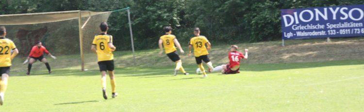 TSV KK 2. Herren 27.05.18 Sparta Langenhagen 2