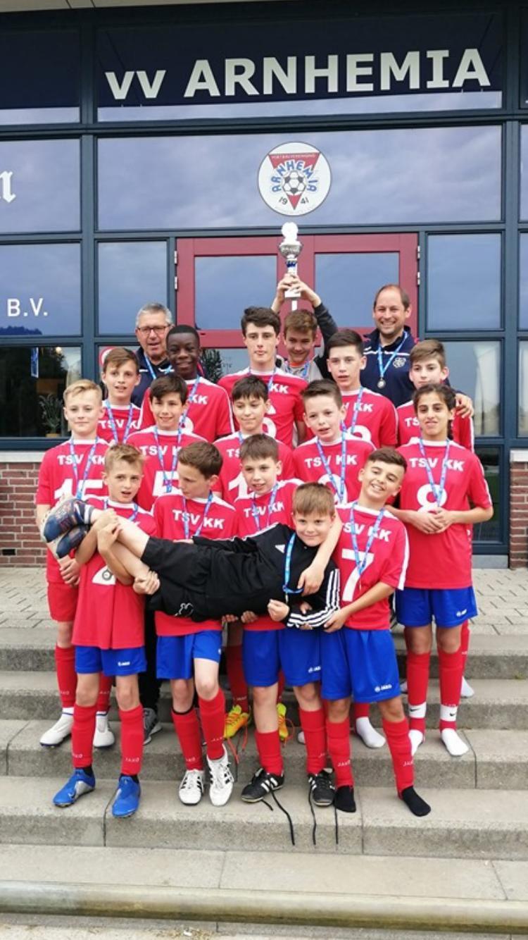 TSV KK 1. D-Junioren gewinnen Arnheim-Cup 2019